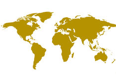 World map technology background Royalty Free Stock Photography