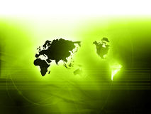 World map technology style. Perfect background with space for your projects text or image Royalty Free Stock Photography