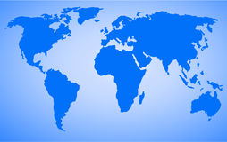 World map vector Stock Photo