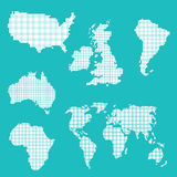 World Map Vector Stock Images