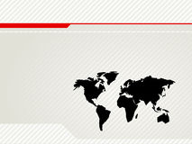 World Map Vector Back Stock Images