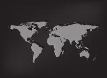 World map vector background Stock Images