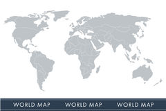 World map vector, Stock Photo