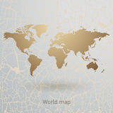 World map vector Royalty Free Stock Photo