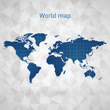 World map vector Stock Photos