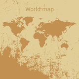 World map vector Royalty Free Stock Photography