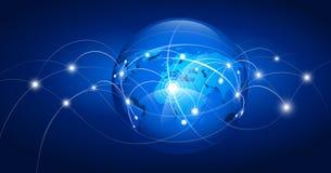 World map. Vector illustration Stock Image