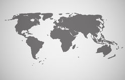 World Map Vector Illustration. This is file of EPS10 format Stock Image