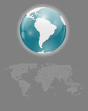 World Map Vector Illustration. World  Map Vector Illustration . This is file of EPS10 format Royalty Free Stock Photos