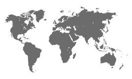 World map vector Royalty Free Stock Photos