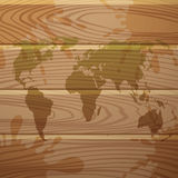 World map. Stock Images