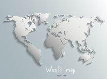 World map vector Royalty Free Stock Image
