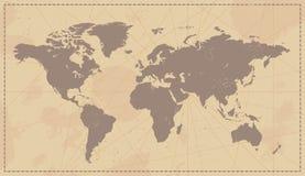 World Map stock illustration