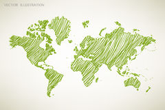 World map. Royalty Free Stock Images