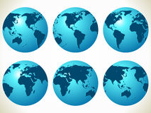 World maps Royalty Free Stock Image