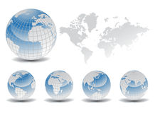 World maps Stock Photo