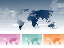 World Maps Royalty Free Stock Photography
