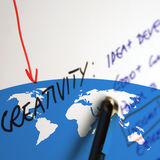 World Marketing Royalty Free Stock Photography