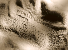 World Markets Royalty Free Stock Photos