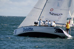 World Match Racing Tour Royalty Free Stock Image
