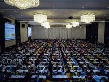 WTMC. World mathematics team championship 2017, November 2017, Bangkok,THAILAND royalty free stock photos