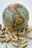 The world of medicine Royalty Free Stock Images