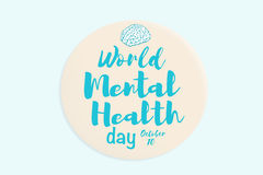 World mental health day Stock Image