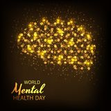 World Mental Health Day. Illustration of a World Mental Health Day Background vector illustration