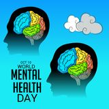 World Mental Health Day. Stock Images