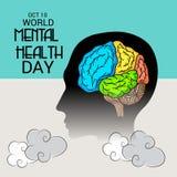 World Mental Health Day. Stock Photo