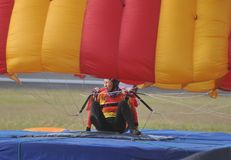 World Military Parachuting Championship Stock Images