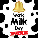 World milk day vector illustration Royalty Free Stock Images