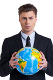 The world is mine! Royalty Free Stock Photography