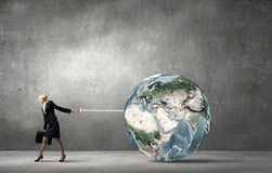 The world is mine Royalty Free Stock Images