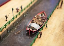Boat on the river. Stock Photography