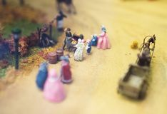 The world in miniature. Royalty Free Stock Photo