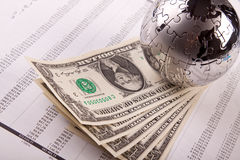 World of Money Stock Image