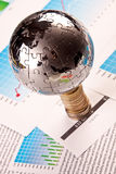 World on Money Stock Images