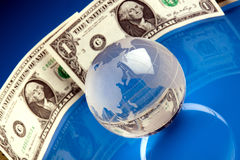 World and Money Stock Images