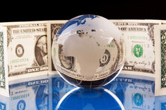 World and Money Stock Photos