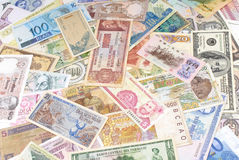 World Money Stock Photo