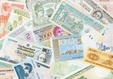World money cash Stock Photos