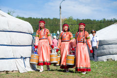 World Mongolians Convention Royalty Free Stock Images