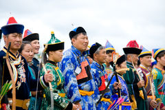 World Mongolians Convention Stock Photography