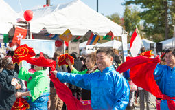 World of Montgomery  2015 Festival. Maryland, USA - Oct.18,2015: Parade of  Cultures at the 7th Annual World of Montgomery 2015 Festival Royalty Free Stock Image