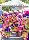World of Montgomery  2015 Festival. Maryland, USA - Oct.18,2015: Parade of  Cultures at the 7th Annual World of Montgomery 2015 Festival Royalty Free Stock Photo