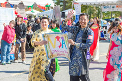 World of Montgomery  2015 Festival. Maryland, USA - Oct.18,2015: Parade of  Cultures at the 7th Annual World of Montgomery 2015 Festival Stock Photography