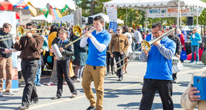 World of Montgomery  2015 Festival. Maryland, USA - Oct.18,2015: Parade of  Cultures at the 7th Annual World of Montgomery 2015 Festival Stock Photos