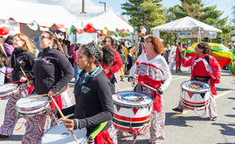 World of Montgomery  2015 Festival. Maryland, USA - Oct.18,2015: Parade of  Cultures at the 7th Annual World of Montgomery 2015 Festival Royalty Free Stock Images