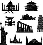 World monuments Royalty Free Stock Photo